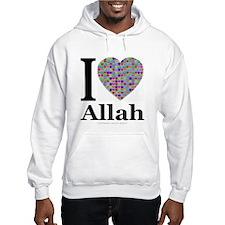 I (Heart) Allah Hoodie