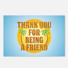 Thank You for Being a Fri Postcards (Package of 8)