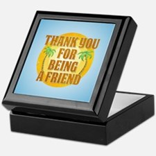 Thank You for Being a Friend Keepsake Box