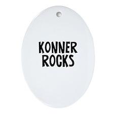 Konner Rocks Oval Ornament