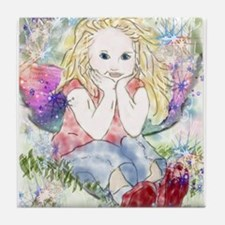 Spring Fairy Tile Coaster