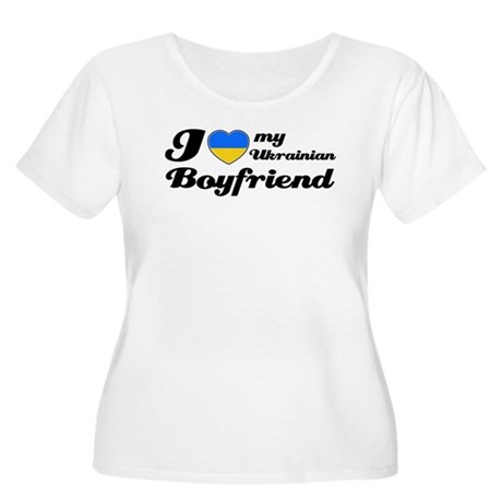 I love my Ukrainian Boyfriend Women's Plus Size Sc
