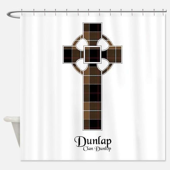 Cross-Dunlap hunting Shower Curtain