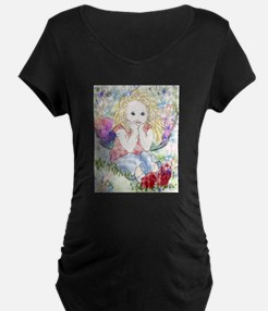 Spring Fairy Maternity T-Shirt