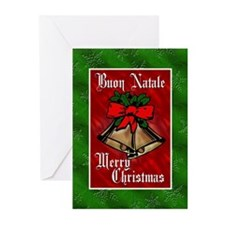 Buon Natale Italian Christmas Cards (Pk of 20)