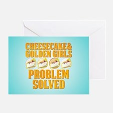 Cheesecake & Golden Girls Greeting Card
