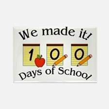 100th Day Made It! Rectangle Magnet