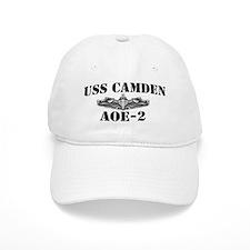 USS CAMDEN Baseball Cap