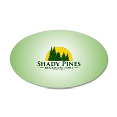 Shady Pines Logo Wall Decal
