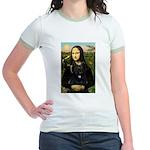 Mona / Briard Jr. Ringer T-Shirt
