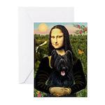 Mona / Briard Greeting Cards (Pk of 20)