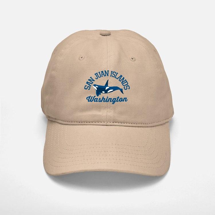 San Juan Islands. Baseball Baseball Cap