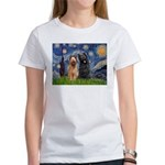 Starry - 2 Briards Women's T-Shirt