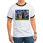 Starry - 2 Briards Ringer T