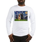 Starry - 2 Briards Long Sleeve T-Shirt