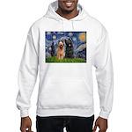 Starry - 2 Briards Hooded Sweatshirt