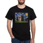 Starry - 2 Briards Dark T-Shirt