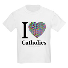 I (Heart) Catholics Kids T-Shirt