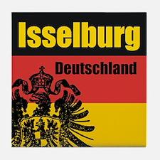Isselburg Deutschland Tile Coaster