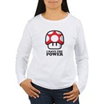 Power Mushroom Women's Long Sleeve T-Shirt