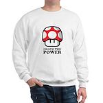 Power Mushroom Sweatshirt