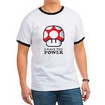 Power Mushroom Ringer T