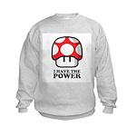 Power Mushroom Kids Sweatshirt