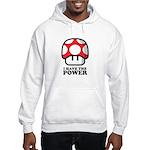 Power Mushroom Hooded Sweatshirt