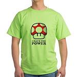 Power Mushroom Green T-Shirt
