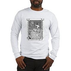 Reading Woman (Renaissance) Long Sleeve T-Shirt