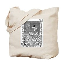 Reading Woman (Renaissance) Tote Bag