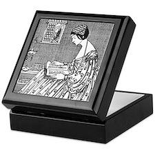 Reading Woman (Renaissance) Keepsake Box