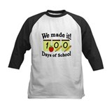 100 days of school Baseball Jersey