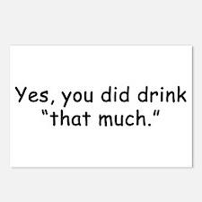 Funny Bartender Postcards (Package of 8)