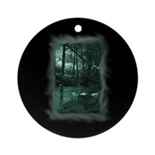 Enchanted Forest Ornament (Round)