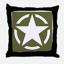 Cute War Throw Pillow