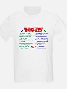 Tibetan Terrier Property Laws 2 T-Shirt