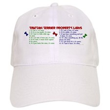 Tibetan Terrier Property Laws 2 Baseball Cap