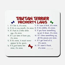 Tibetan Terrier Property Laws 2 Mousepad
