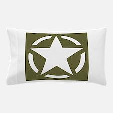 WW2 American star Pillow Case