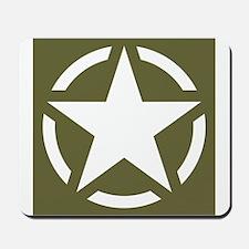 WW2 American star Mousepad