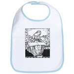 Reading Woman Bib