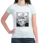 Reading Woman Jr. Ringer T-Shirt