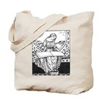 Reading Woman Tote Bag