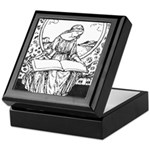 Reading Woman Keepsake Box