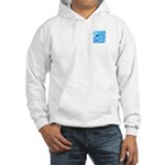 Icy Maya Jaguar Head Hooded Sweatshirt