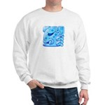 Icy Maya Jaguar Head Sweatshirt