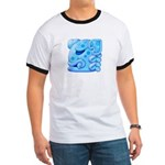 Icy Maya Jaguar Head Ringer T