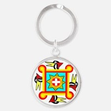 SOUTHEAST INDIAN DESIGN Keychains