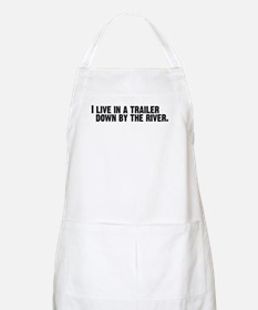 DOWN BY THE RIVER BBQ Apron